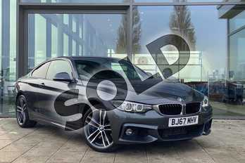 BMW 4 Series 435d xDrive M Sport 2dr Auto (Professional Media) in Mineral Grey at Listers King's Lynn (BMW)