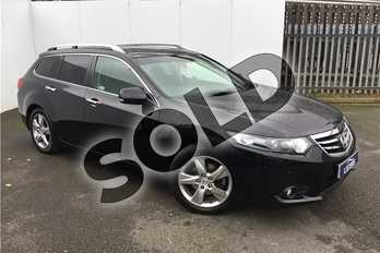 Honda Accord 2.2 i-DTEC EX 5dr Auto in Pearl - Crystal black at Listers U Solihull