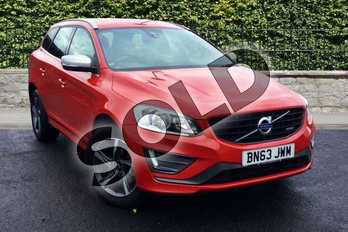 Volvo XC60 D4 (163) R DESIGN Nav 5dr Geartronic in Passion Red at Listers Volvo Worcester