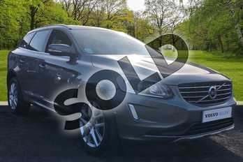 Volvo XC60 D5 (220) SE Lux Nav 5dr AWD Geartronic in Osmium Grey at Listers Volvo Worcester