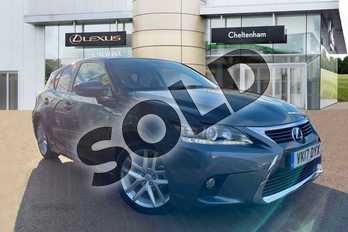 Lexus CT 200h 1.8 Advance 5dr CVT Auto in Grey at Lexus Cheltenham