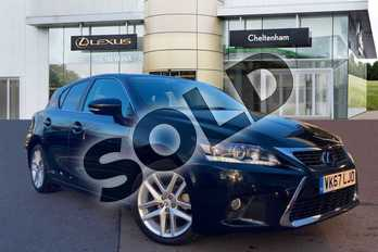 Lexus CT 200h 1.8 Advance 5dr CVT Auto in Black at Lexus Cheltenham