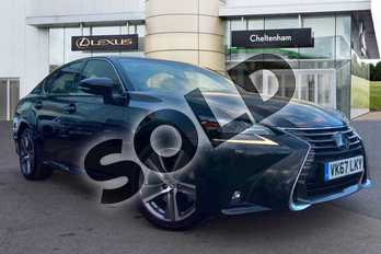 Lexus GS 300h 2.5 Luxury 4dr CVT in Black at Lexus Cheltenham