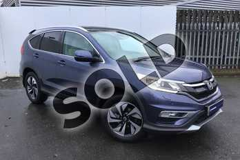 Honda CR-V 2.0 i-VTEC EX 5dr Auto in Twilight Blue at Listers Honda Solihull