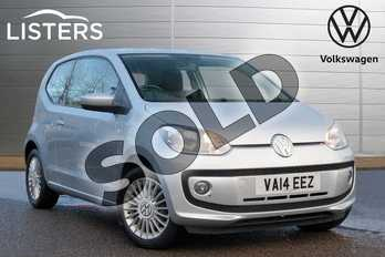 Volkswagen Up 1.0 High Up 3dr in Reflex Silver at Listers Volkswagen Leamington Spa