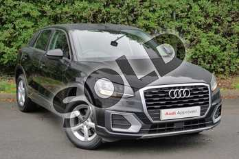 Audi Q2 1.0 TFSI SE 5dr in Myth Black Metallic at Worcester Audi