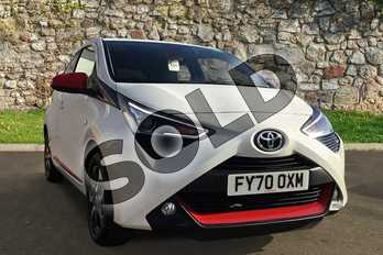 Toyota AYGO 1.0 VVT-i X-Trend TSS 5dr in White Flash at Listers Toyota Boston