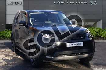 Land Rover Discovery 3.0 TD6 (258hp) HSE in Santorini Black at Listers Land Rover Droitwich