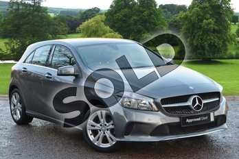 Mercedes-Benz A Class A180d Sport 5dr in Mountain Grey at Mercedes-Benz of Grimsby
