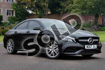 Mercedes-Benz CLA CLA 45 4Matic 4dr Tip Auto in cosmos black metallic at Mercedes-Benz of Hull