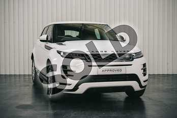 Range Rover Evoque D180 R-DYNAMIC S Diesel MHEV in Fuji White at Listers Land Rover Solihull