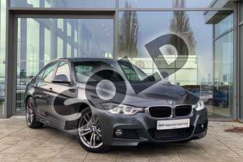BMW 3 Series 320d M Sport 4dr Step Auto in Mineral Grey at Listers King's Lynn (BMW)