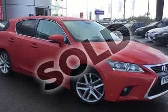 Lexus CT 200h 1.8 Advance 5dr CVT Auto in Fuji Red at Lexus Lincoln