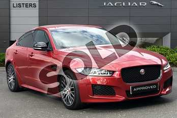 Jaguar XE 2.0 Ingenium Landmark Edition 4dr Auto in Firenze Red at Listers Jaguar Droitwich