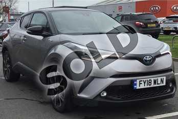 Toyota C-HR 1.8 Hybrid Dynamic 5dr CVT in Metal Stream at Listers Toyota Lincoln