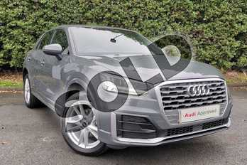 Audi Q2 35 TFSI S Line 5dr S Tronic in Nano Grey Metallic at Worcester Audi