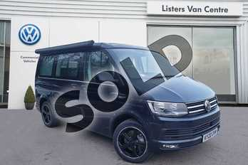 Volkswagen California 2.0 TDI Ocean 199 5dr DSG in Blue at Listers Volkswagen Van Centre Coventry