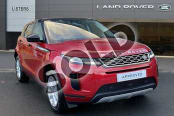 Range Rover Evoque D150 S in Firenze Red at Listers Land Rover Hereford