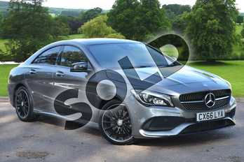 Mercedes-Benz CLA CLA 220d AMG Line 4dr Tip Auto in mountain grey metallic at Mercedes-Benz of Grimsby