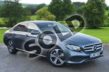 Mercedes-Benz E Class E220d SE 4dr 9G-Tronic in Selenite Grey metallic at Mercedes-Benz of Hull