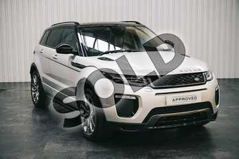 Range Rover Evoque 2.0 TD4 HSE Dynamic 5dr Auto in Indus Silver at Listers Land Rover Solihull