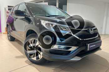 Honda CR-V 2.0 i-VTEC EX 5dr Auto in Crystal Black at Listers Honda Northampton