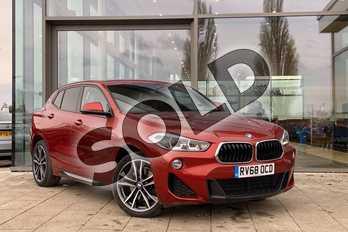 BMW X2 xDrive 20d M Sport 5dr Step Auto in Sunset Orange metallic paint at Listers King's Lynn (BMW)