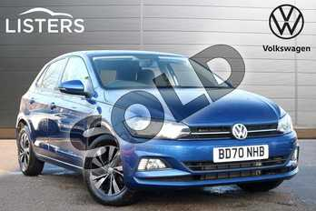 Volkswagen Polo 1.0 TSI 95 Match 5dr DSG in Reef Blue at Listers Volkswagen Leamington Spa