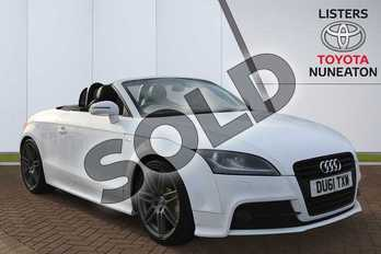 Audi TT 2.0T FSI Black Edition 2dr in White at Listers Toyota Nuneaton