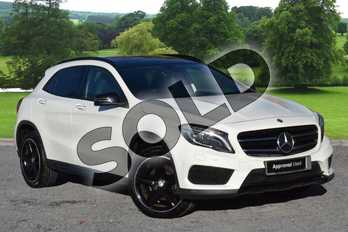 Mercedes-Benz GLA GLA 220d 4Matic AMG Line 5dr Auto (Prem Plus) in Cirrus White at Mercedes-Benz of Grimsby