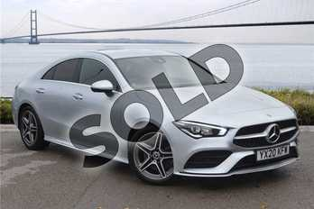 Mercedes-Benz CLA CLA 200 AMG Line Premium 4dr Tip Auto in Metallic - Mojave silver at Mercedes-Benz of Hull