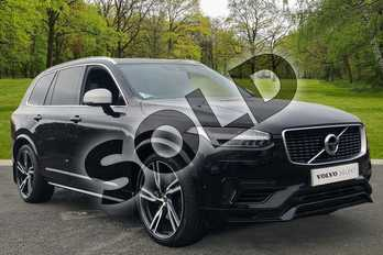 Volvo XC90 2.0 T8 Hybrid R DESIGN Pro 5dr Geartronic in Onyx Black at Listers Volvo Worcester