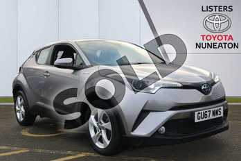Toyota C-HR 1.8 Hybrid Icon 5dr CVT in Silver at Listers Toyota Nuneaton