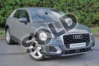 Audi Q2 1.0 TFSI Sport 5dr in Nano Grey Metallic at Worcester Audi