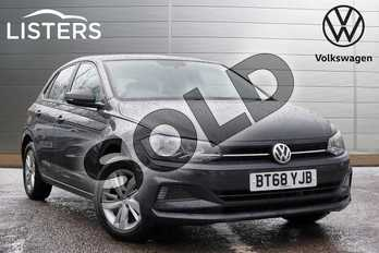 Volkswagen Polo 1.0 TSI 95 SE 5dr in Urano Grey at Listers Volkswagen Leamington Spa