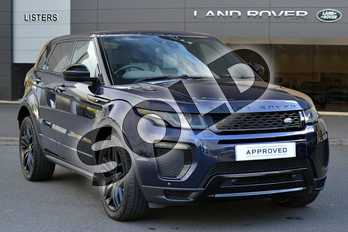Range Rover Evoque 2.0 TD4 HSE Dynamic 5dr Auto in Loire Blue at Listers Land Rover Hereford
