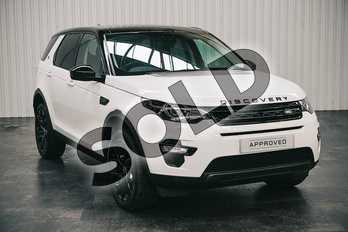Land Rover Discovery Sport 2.0 TD4 180 HSE Black 5dr Auto in Fuji White at Listers Land Rover Solihull