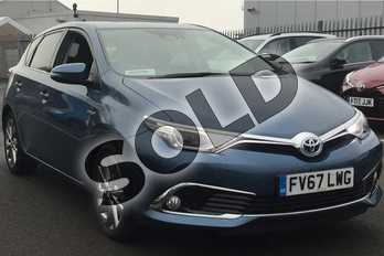 Toyota Auris 1.8 Hybrid Excel TSS 5dr CVT (Leather) in Denim Blue at Listers Toyota Lincoln