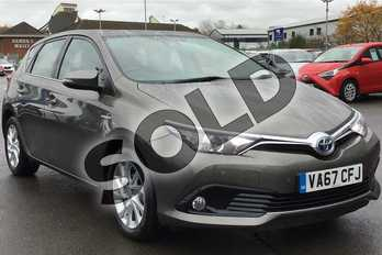Toyota Auris 1.8 Hybrid Icon TSS 5dr CVT in Brown at Listers Toyota Lincoln
