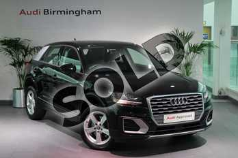 Audi Q2 1.4 TFSI Sport 5dr in Myth Black Metallic at Birmingham Audi
