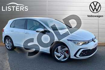 Volkswagen Golf 1.4 TSI GTE 5dr DSG in Pure White at Listers Volkswagen Stratford-upon-Avon