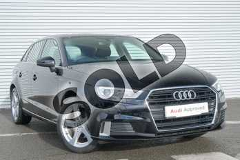 Audi A3 1.0 TFSI Sport 5dr in Brilliant Black at Coventry Audi