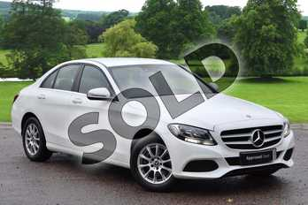 Mercedes-Benz C Class C200 SE 4dr 9G-Tronic in Polar White at Mercedes-Benz of Grimsby