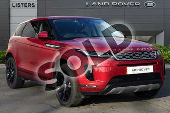 Range Rover Evoque 2.0 D180 SE 5dr Auto in Firenze Red at Listers Land Rover Droitwich
