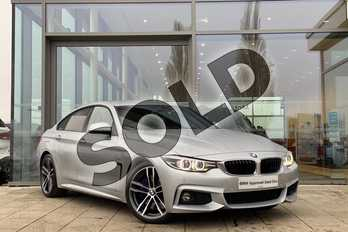 BMW 4 Series 440i M Sport 5dr Auto (Professional Media) in Glacier Silver at Listers King's Lynn (BMW)