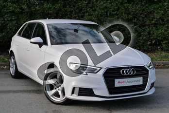 Audi A3 1.0 TFSI Sport 5dr in Ibis White at Worcester Audi