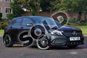 Mercedes-Benz A Class A200 AMG Line Premium 5dr Auto in Cosmos Black at Mercedes-Benz of Lincoln