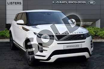 Range Rover Evoque 2.0 D150 R-Dynamic 5dr 2WD in Fuji White at Listers Land Rover Droitwich