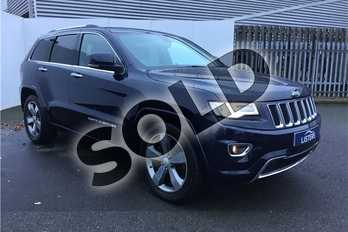 Jeep Grand Cherokee 3.0 CRD Overland 5dr Auto in Pearl - True blue at Listers U Solihull