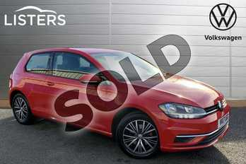 Volkswagen Golf 1.4 TSI SE 3dr in Tornado Red at Listers Volkswagen Stratford-upon-Avon